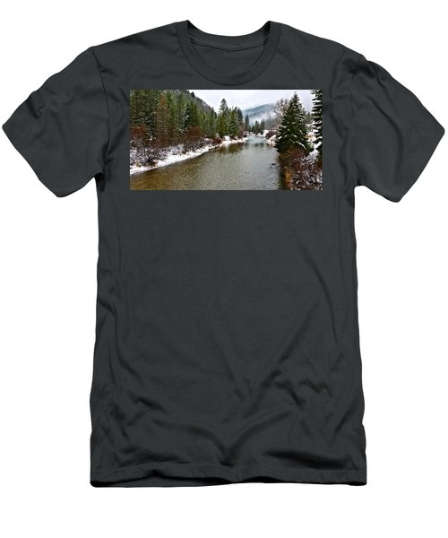 Montana Winter Men's T-Shirt (Athletic Fit)