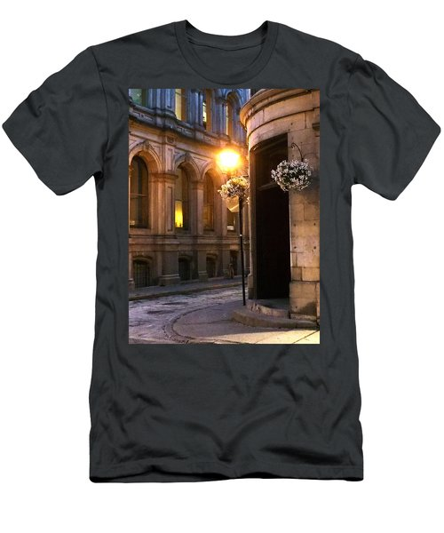 Montreal Night Men's T-Shirt (Slim Fit) by Steve Archbold