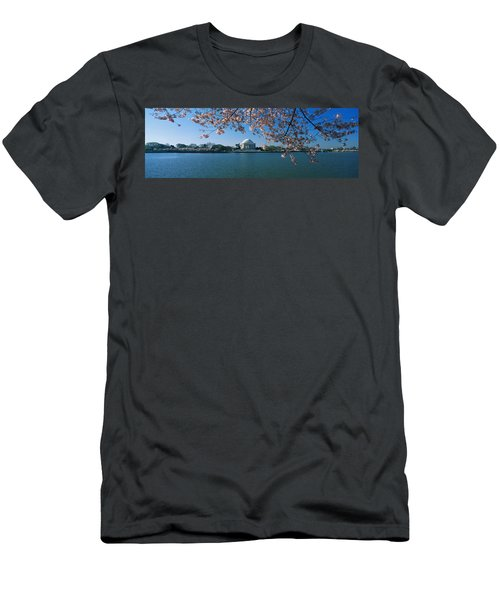 Monument At The Waterfront, Jefferson Men's T-Shirt (Athletic Fit)