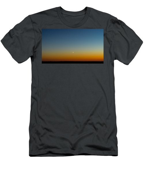 Moon And Venus I Men's T-Shirt (Slim Fit) by Marco Oliveira
