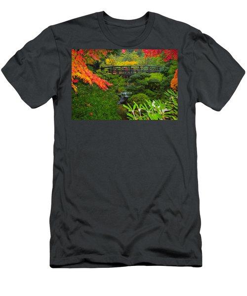 Moon Bridge To Enchantment Men's T-Shirt (Athletic Fit)