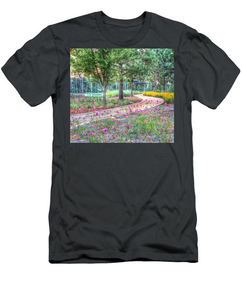 Moore Garden Stroll Men's T-Shirt (Athletic Fit)