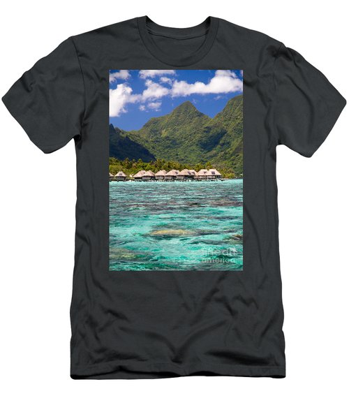 Moorea Lagoon No 3 Men's T-Shirt (Athletic Fit)