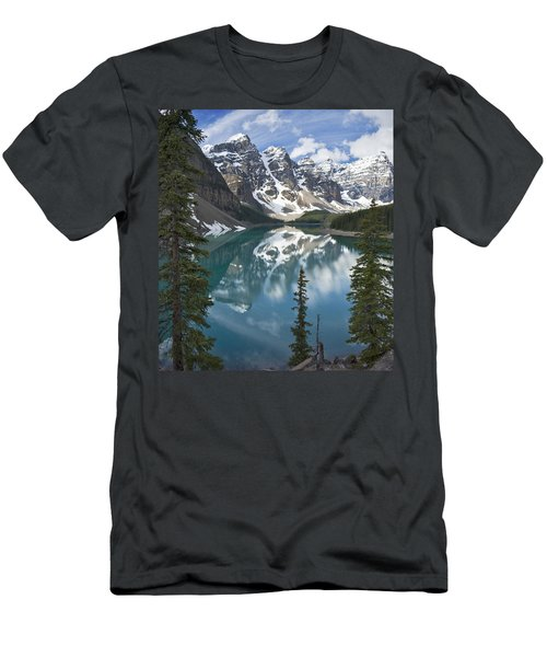 Moraine Lake Overlook Men's T-Shirt (Athletic Fit)