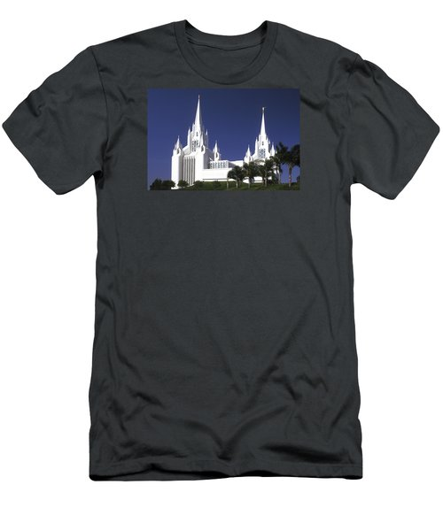 Mormon Temple Men's T-Shirt (Athletic Fit)