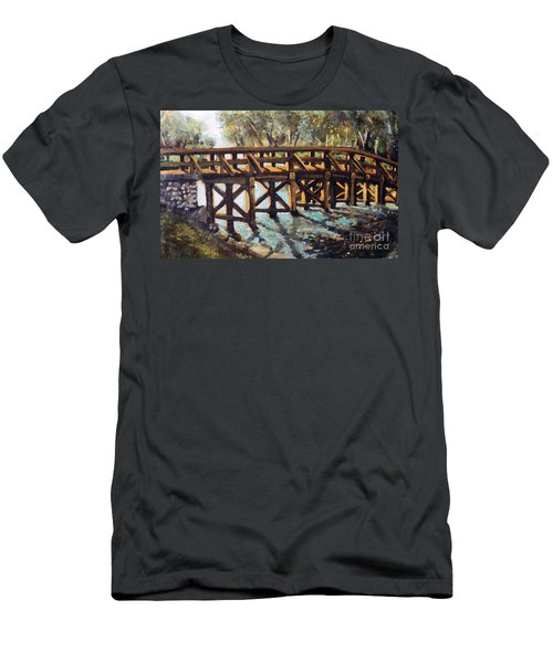 Morning At The Old North Bridge Men's T-Shirt (Athletic Fit)