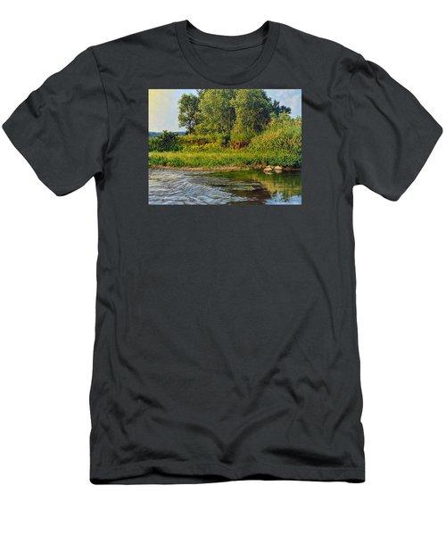 Morning Glow Men's T-Shirt (Slim Fit) by Bruce Morrison