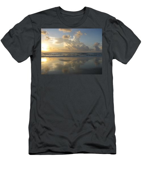 Morning Has Broken Men's T-Shirt (Slim Fit) by Ellen Meakin
