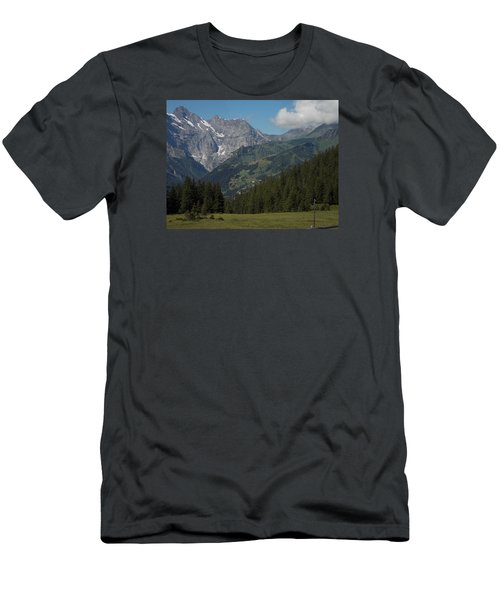 Morning In The Alps Men's T-Shirt (Athletic Fit)