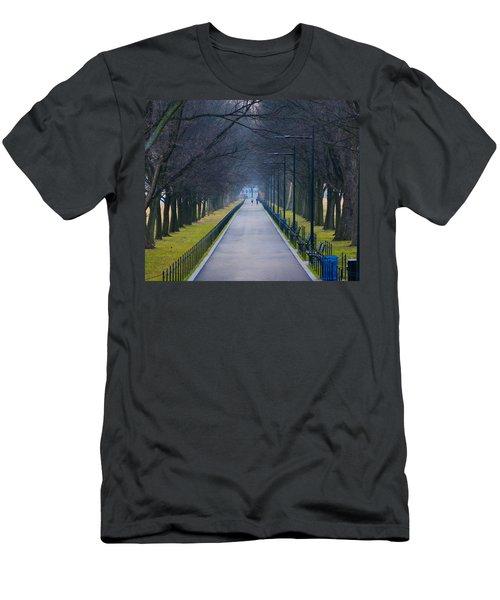 Morning In Washington D.c. Men's T-Shirt (Athletic Fit)