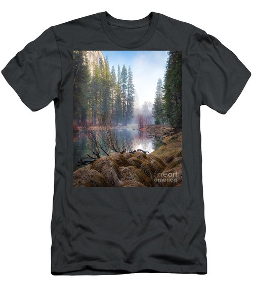 Morning On The Merced Men's T-Shirt (Athletic Fit)
