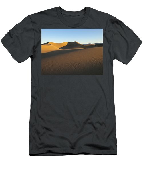 Men's T-Shirt (Slim Fit) featuring the photograph Morning Shadows by Joe Schofield