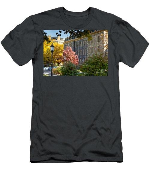 Morrill Hall Cornell University Men's T-Shirt (Athletic Fit)