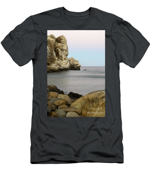 Morro Bay Morning 2 Men's T-Shirt (Athletic Fit)