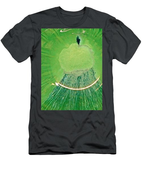 Moses On The Moutain Men's T-Shirt (Athletic Fit)