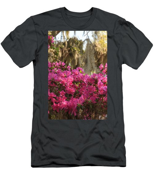 Moss Over Azaleas Men's T-Shirt (Athletic Fit)