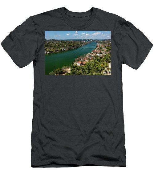 Mount Bonnell Terrace, Covert Park Men's T-Shirt (Athletic Fit)