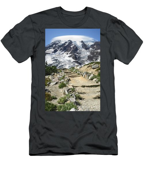 Mount Rainier Trail Men's T-Shirt (Athletic Fit)
