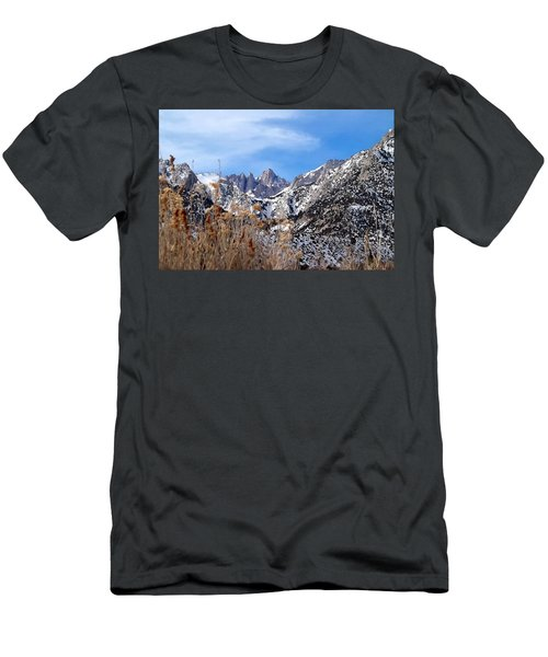 Mount Whitney - California Men's T-Shirt (Athletic Fit)