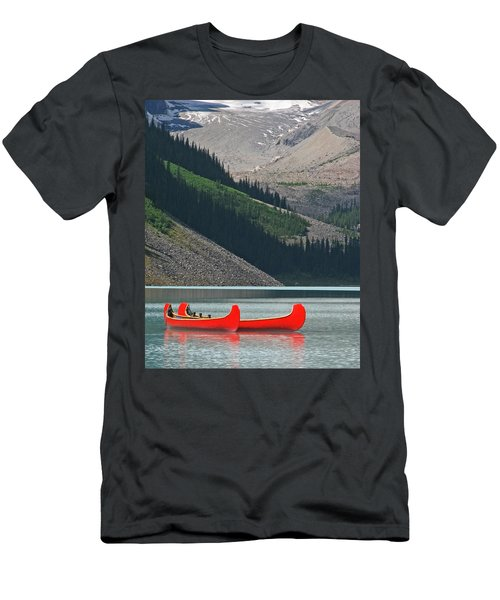 Mountain Canoes Men's T-Shirt (Athletic Fit)