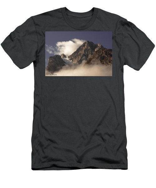Mountain Clouds Men's T-Shirt (Athletic Fit)