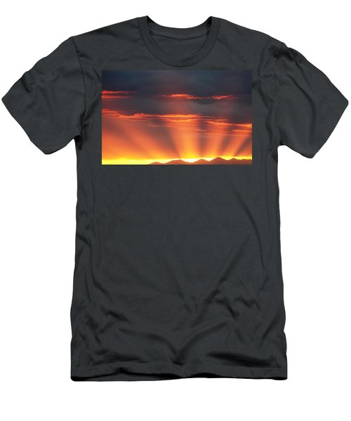 Mountain Rays Men's T-Shirt (Athletic Fit)
