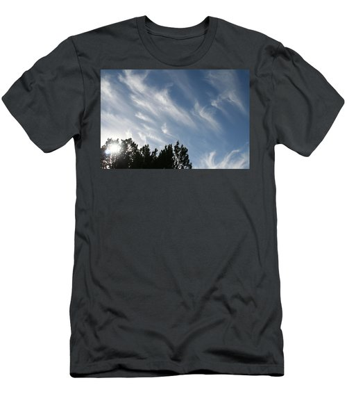 Mountain Sky Men's T-Shirt (Athletic Fit)