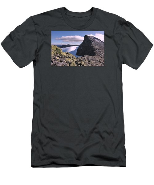 Mountain Summit Ridge Men's T-Shirt (Athletic Fit)