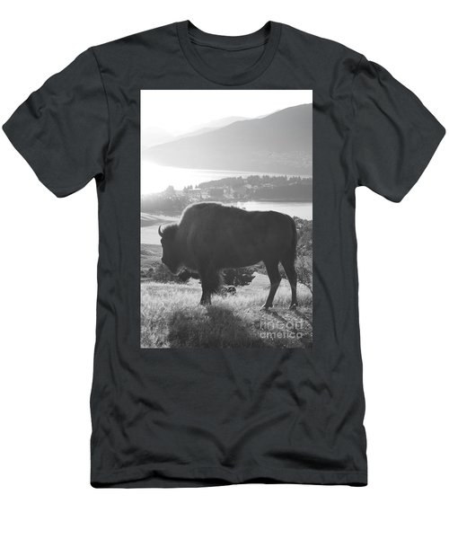 Mountain Wildlife Men's T-Shirt (Athletic Fit)