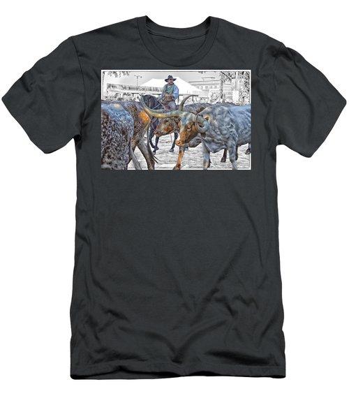 Move Em Out Men's T-Shirt (Athletic Fit)