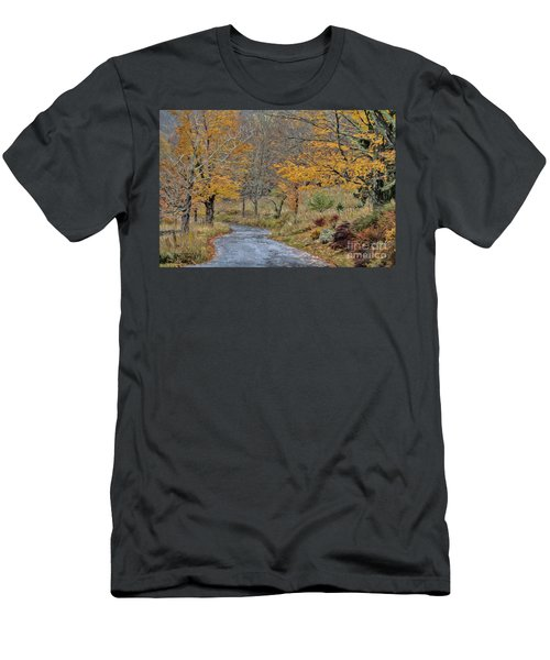Moving On Down The Road Men's T-Shirt (Athletic Fit)