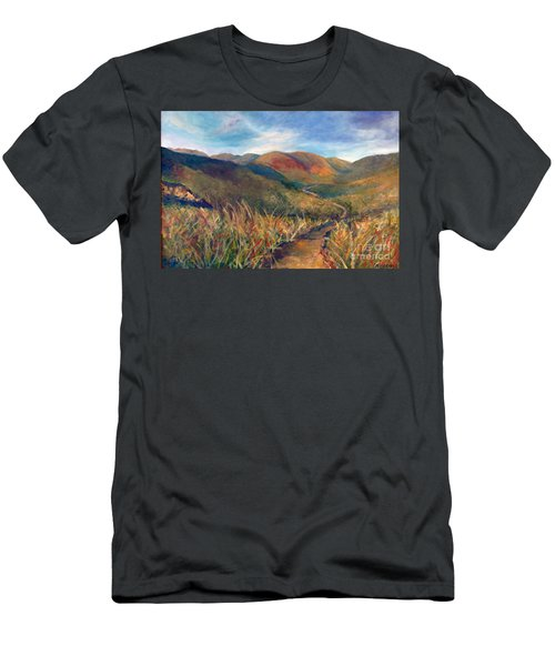 Mt. Diablo Hills Men's T-Shirt (Athletic Fit)