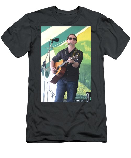Musician John Fullbright Men's T-Shirt (Athletic Fit)