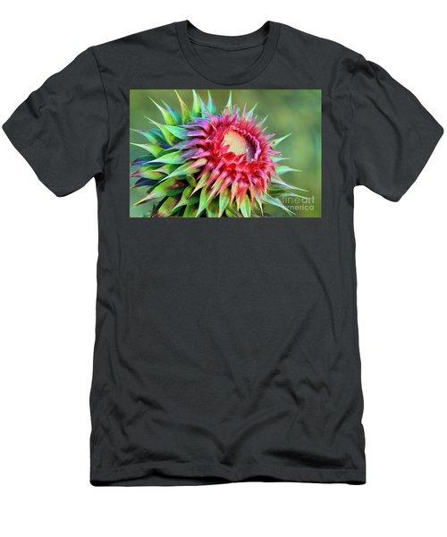 Musk Thistle Men's T-Shirt (Athletic Fit)
