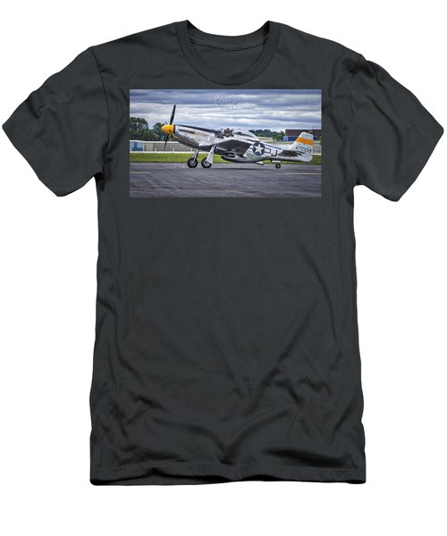 Mustang P51 Men's T-Shirt (Athletic Fit)