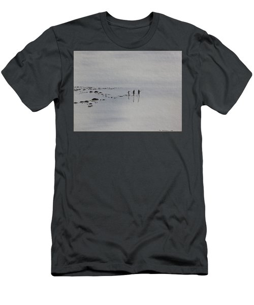 Men's T-Shirt (Slim Fit) featuring the painting My Dreamtime 1 by Tim Mullaney