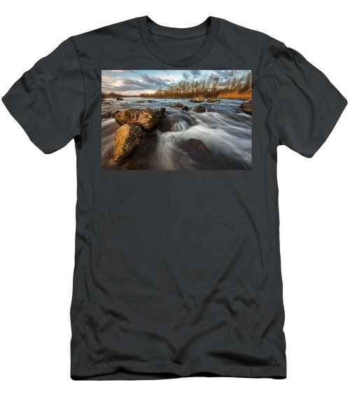 Men's T-Shirt (Slim Fit) featuring the photograph My Favorite Spot by Davorin Mance