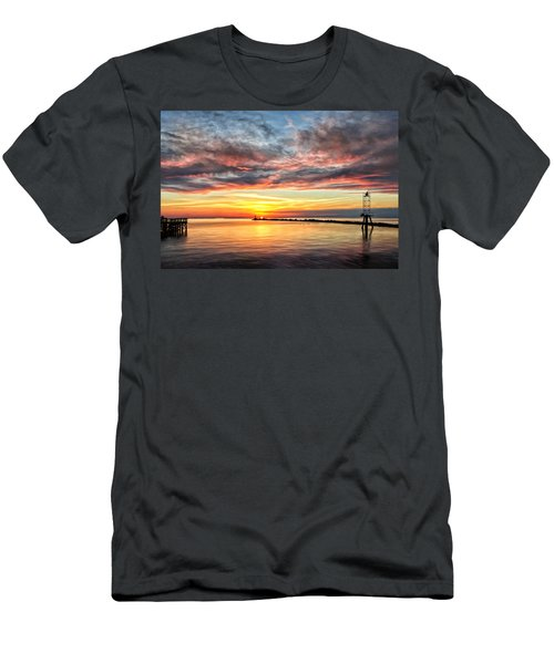 My Return To Cape Charles Virginia Men's T-Shirt (Athletic Fit)