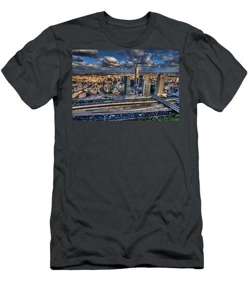 My Sim City Men's T-Shirt (Athletic Fit)