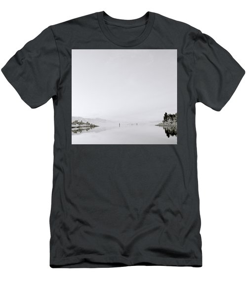 Still Waters Men's T-Shirt (Slim Fit) by Shaun Higson