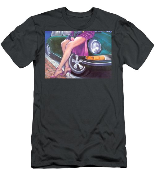 Mystery On Peter Porsche Men's T-Shirt (Athletic Fit)