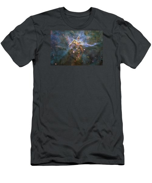 Mystic Mountain Men's T-Shirt (Athletic Fit)