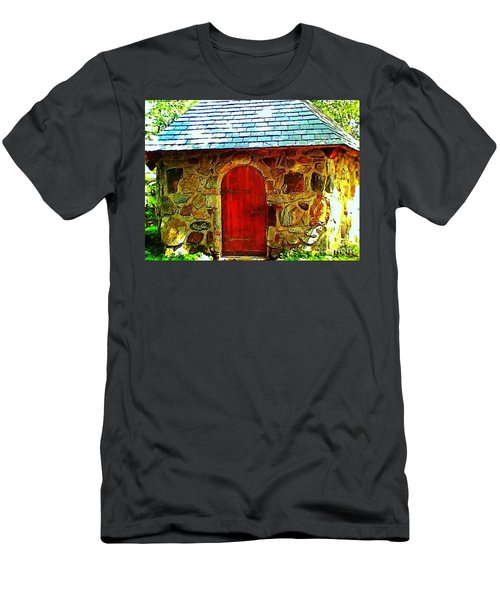 Myth And Mystical Chapel Men's T-Shirt (Athletic Fit)