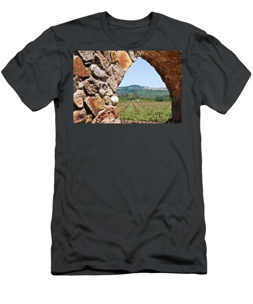 Napa Vineyard Men's T-Shirt (Athletic Fit)