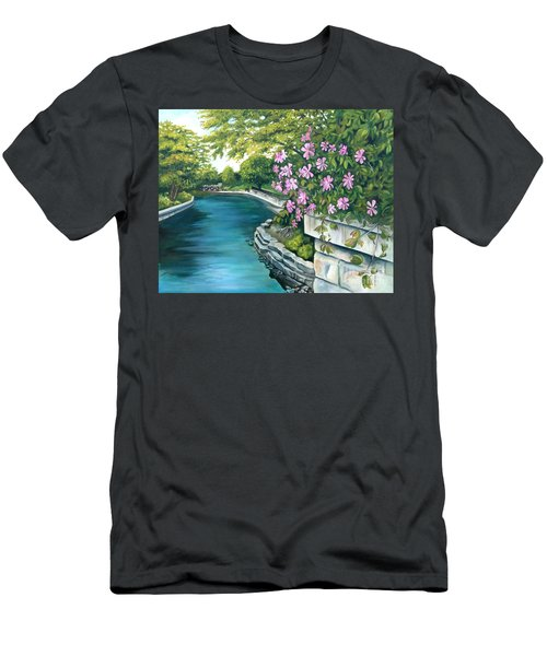Naperville Riverwalk Men's T-Shirt (Athletic Fit)