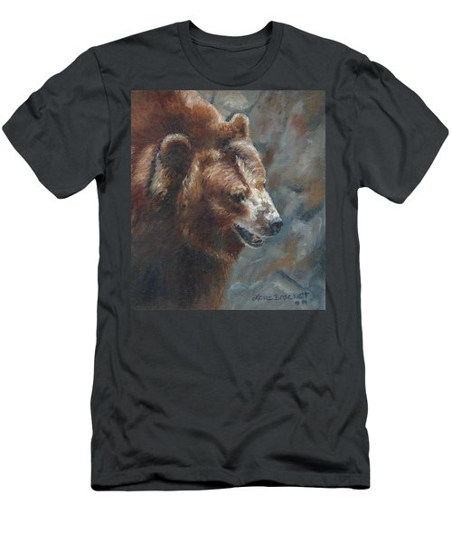 Nate - The Bear Men's T-Shirt (Athletic Fit)