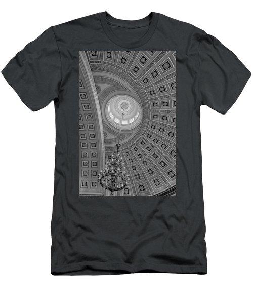National Statuary Rotunda Bw Men's T-Shirt (Athletic Fit)