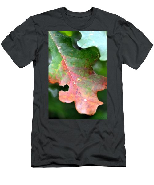 Natural Oak Leaf Abstract Men's T-Shirt (Athletic Fit)