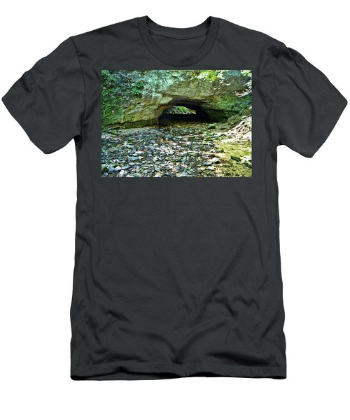 Natural Rock Bridge Men's T-Shirt (Athletic Fit)