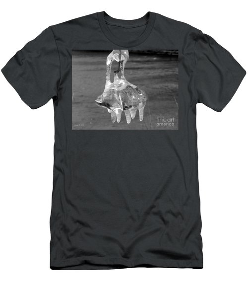 Men's T-Shirt (Slim Fit) featuring the photograph Nature's Ornament by Nina Silver